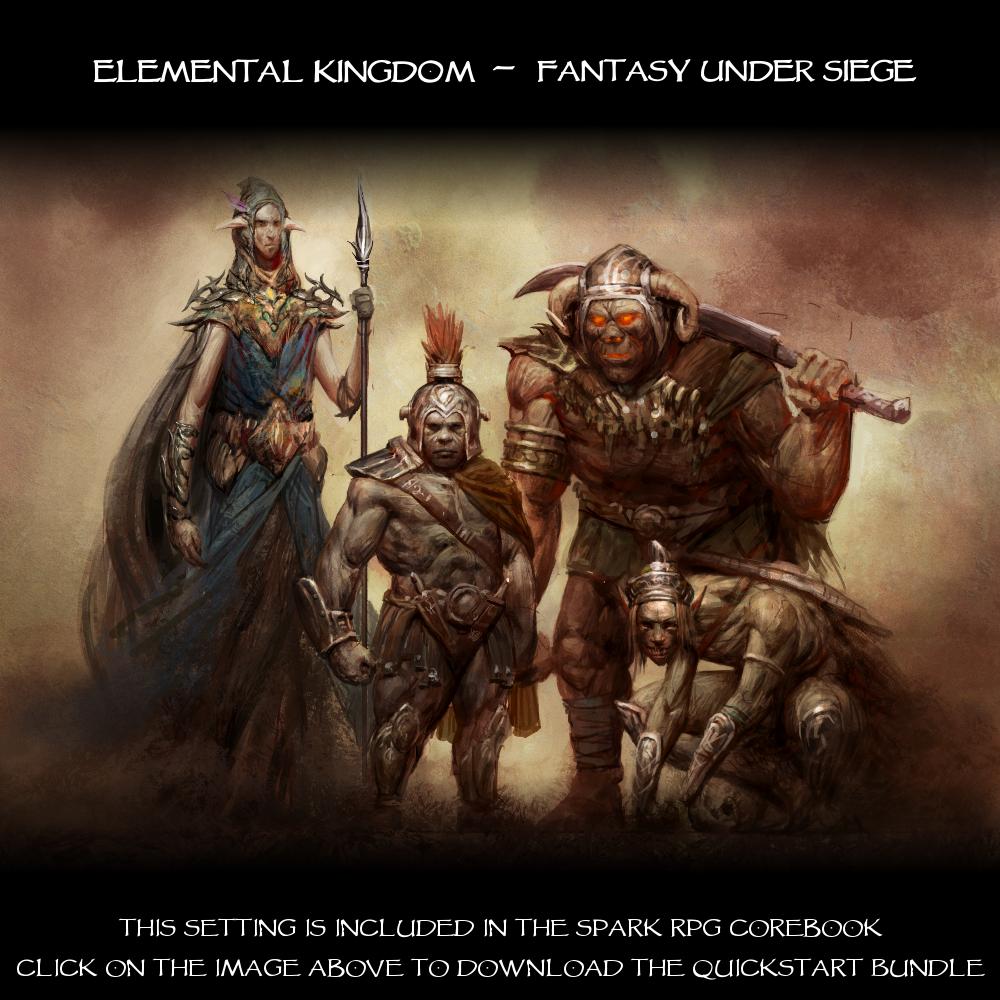 The Elemental Kingdom- Fantasy Under Siege