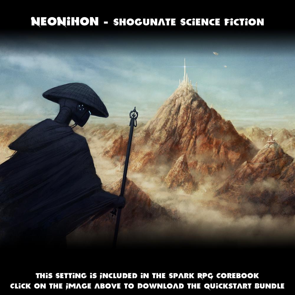 The NeoNihon Setting - Shogunate Science Fiction