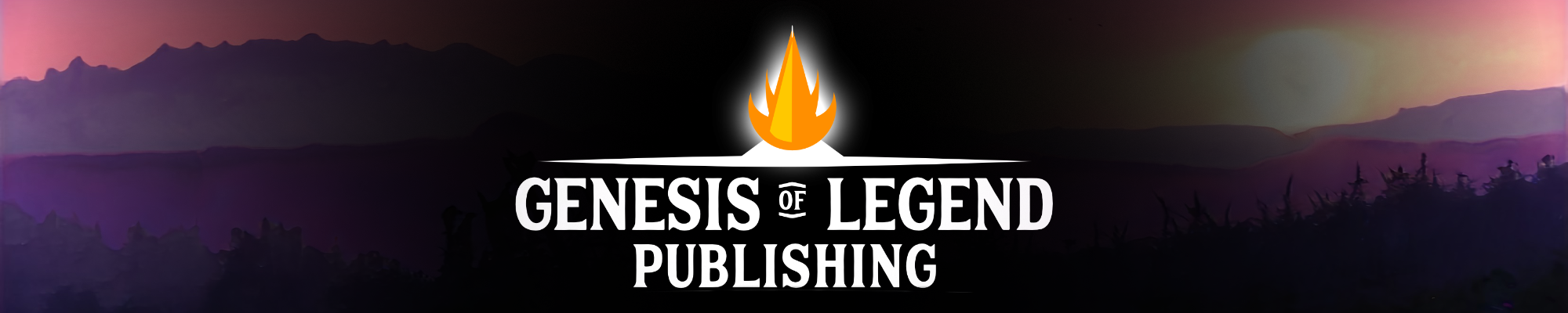 Genesis of Legend Publishing Inc. Logo